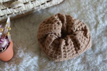 Chouchou - nid d'abeille camel
