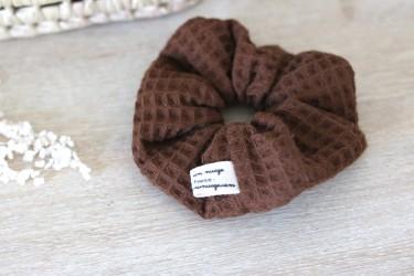 Chouchou - nid d'abeille chocolat