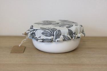 Recouvre plat en imprimé fleurs